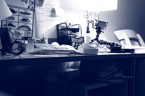 photo credit: daily bw: messy desk needs help via photopin (license)