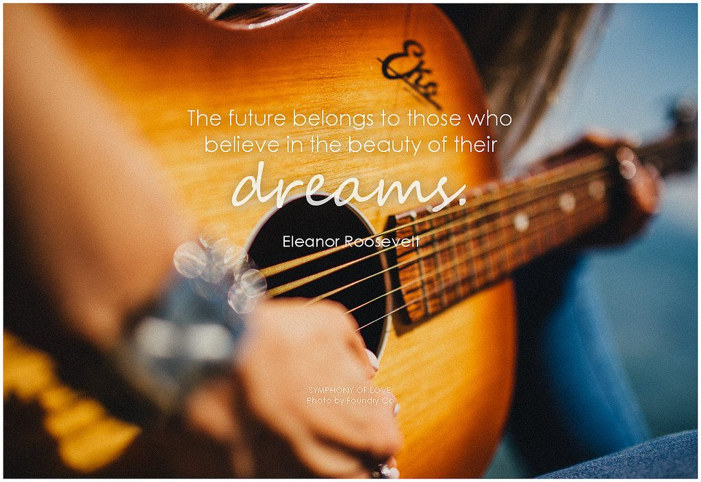 photo credit: Eleanor Roosevelt The future belongs to those who believe in the beauty of their dreams via photopin (license)