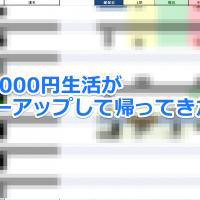 1日2000円生活が我が家にパワーアップして帰ってきた!!