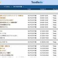 メインのタスク管理ツールをToodledoに移行しました!その理由とは…!?