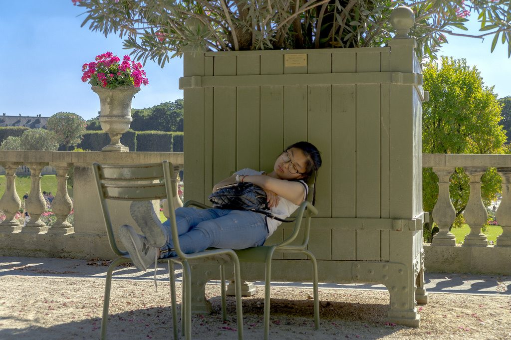 photo credit: Asian girl asleep in the park via photopin (license)