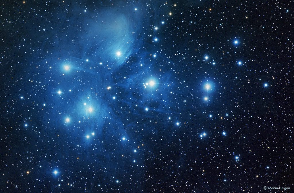 photo credit: Martin_Heigan The Pleiades (M45) via photopin (license)